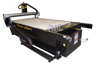For metal or wood, CNC router models by ez Router.