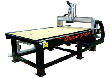 High production, super precision wood CNC routers by ez Router.