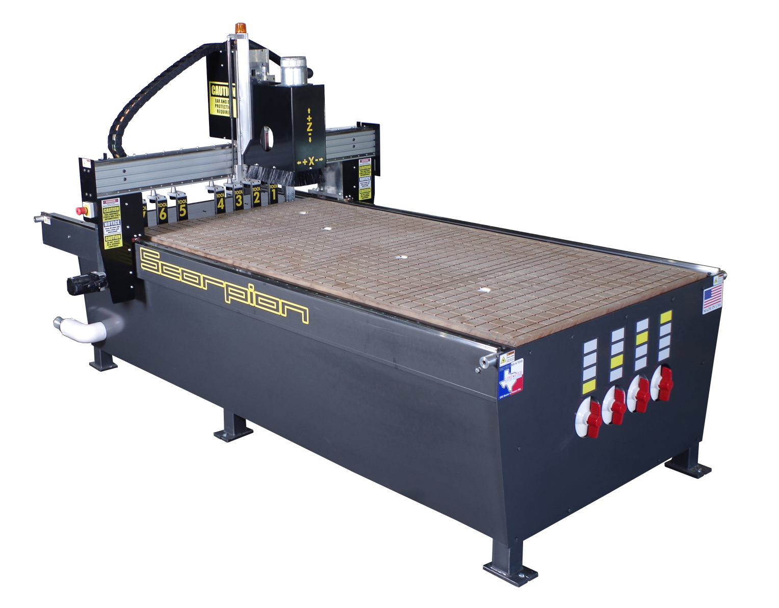 Scorpion Cnc Router Your Goto For Heavy Production S