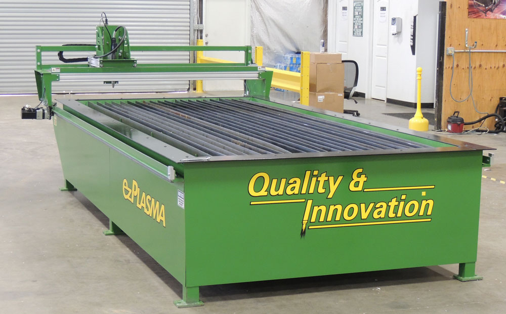 Ez Plasma Green Machine 5' x 10' CNC Plasma Cutter